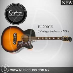 Epiphone EJ-200CE Acoustic/Electric Guitar (VS)