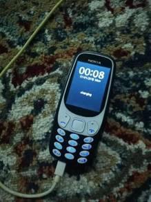 Nokia 3310 versi baru.beli 2017 ade phone no char