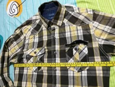 Original Massimo Dutti Checkered Shirt Plaid