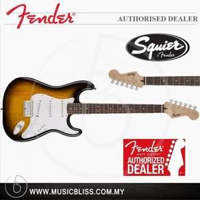 Fender Squier Contemporary Strat HH Guitar (Black)