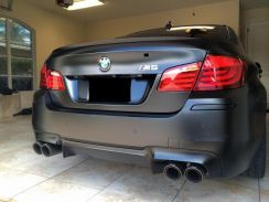 BMW F10 M5 Rear Diffuser PP Material