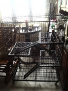 Sangkar kucing 3 tingkat heavy duty cage