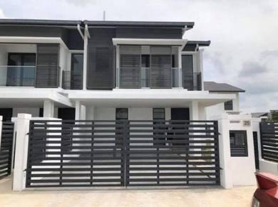 250k rebate 22x86 rumah teres 2 tingkat superlink freehold, Putrajaya