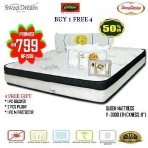 Queen size Spring Mattress (M-V-3000)26/09
