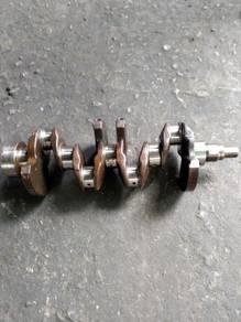 Crank shaft proton 4g13. wira 1.3, satria 1.3