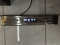 Perodua myvi new side steel pad oem with led light
