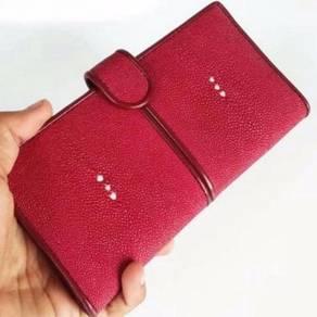 Wallet Wanita Kulit PARI MirzaLeather RED
