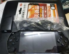 Psp modded with 4gb memory card