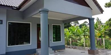 Semi D1tingkat berkonsepkan bungalow mewah dengan 2 Porch