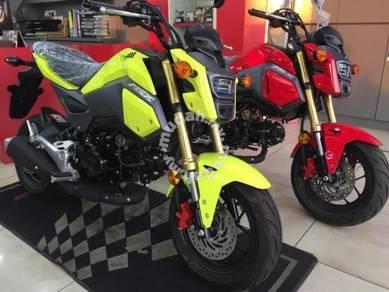 Honda msx 125 ready stock (honda impian-x)