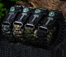 5 in 1 Outdoor Survival Military Paracord Bracelet