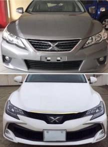 2010 mark-x mark x conversion nfl bumper bodykit