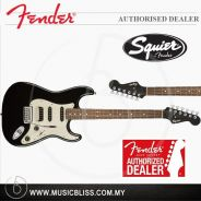 Fender Squier Contemporary Strat HSS, RW FB(Black)