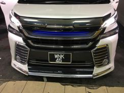 Toyota Vellfire 30 2016 2017 front grill led