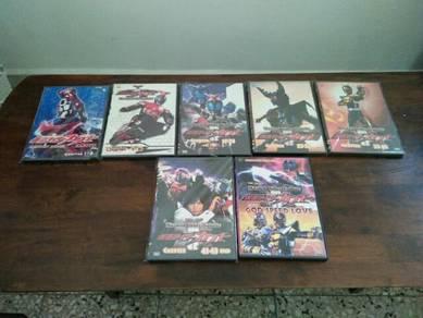 Original Masked Rider Kabuto Dvd Set and The Movie