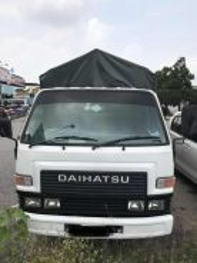 Daihatsu Wooden Cargo Fuso Hicom
