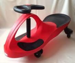 Red kids yoyo car