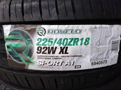225/40/18 Rovelo Sport A1 Tyre Tayar