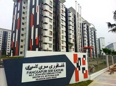 Seri Kasturi Apartments Setia Alam 950sf BelowMarket GoodConditon Reno