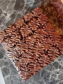 Brownies 10 inci