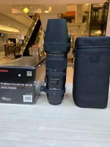 Sigma 70-200mm f2.8 ex apo dg os hsm lens(canon)