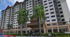 Kajang, Kristal Villa condo near with Jalan Reko with aircond, heater