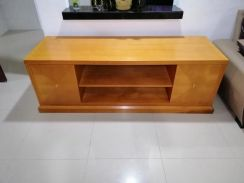 High quality solid wood tv cabinet