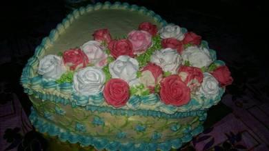 French Sponge Rainbow Cake