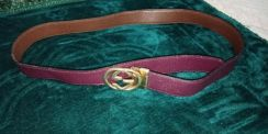 Golf gucci belt coklat ungu