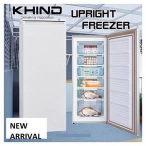 Khind UF163 1 Door Upright Freezer 163L(White)NEW