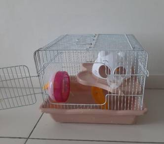 Hamster cage with accessories mice sugar glider