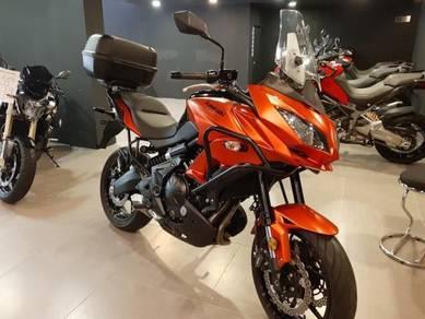2016 Kawasaki versys 650 versys650 mileage 8k km