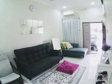 Single Storey END LOT & RENOVATED, Seksyen 34 Shah Alam (FREEHOLD)
