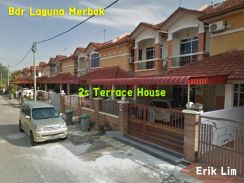 2s Terrace House, Fully Renovated Furnished, Bandar Laguna Merbok