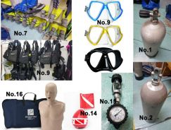 Dive center equipment for sale