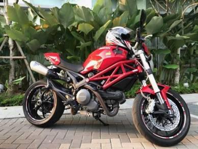 Ducati Monster 796 ABS Corse Stripe -2013