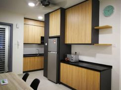 KL trader Square condo FULLY FURNISHED 3+1 bedroom nice corner unit