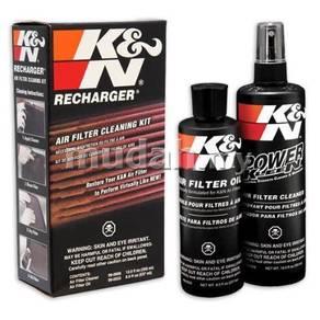 K&N Recharger Drop In Air Filter Cleaner Kit
