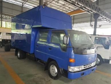 Toyota Box Van Crew Cab 3ton- New