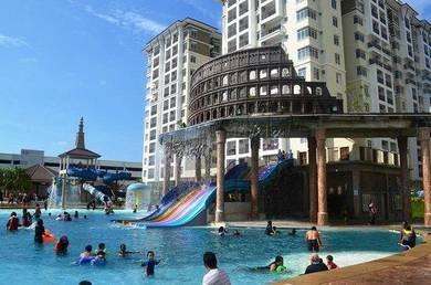 StudioRoom Facing Swimming Pool Bayou Lagoon Resort BukitKatil Melaka
