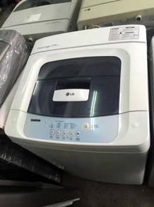 Auto Basuh Top Washing 7kg LG Fully Machine Mesin