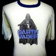 ©1977 Star Wars Darth Vader Iron-on T-shirt