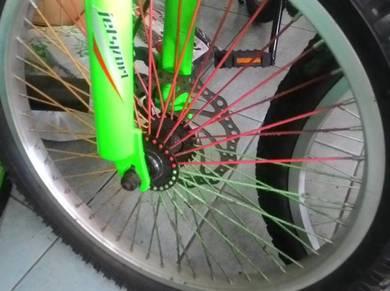 Disc brake cakera plat besi basikal bike bicycle d