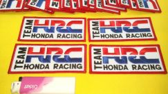 Patches team honda racing