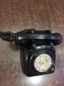 Antique telephone telefon antik