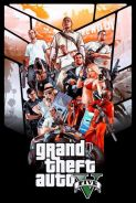 Grand theft auto gta5 game poster