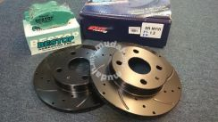 AR Racing Disc Rotor /PMU Brake Pads Satria Neo