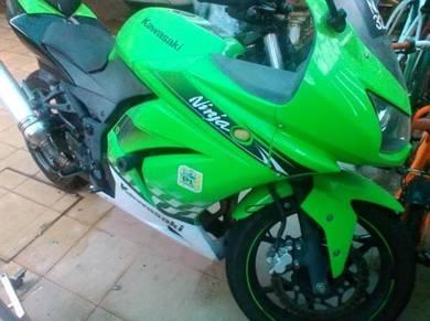 2011 Kawasaki ninja 250 for sale