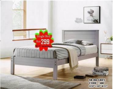 Single wooden bed frame ( M-400) 19/06