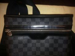Real Louis Vuitton wallet laptop bag